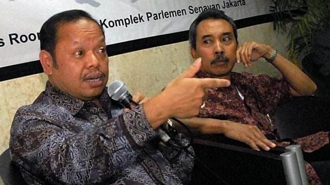 Sutan Bhatoegana & Syamsuddin Harris