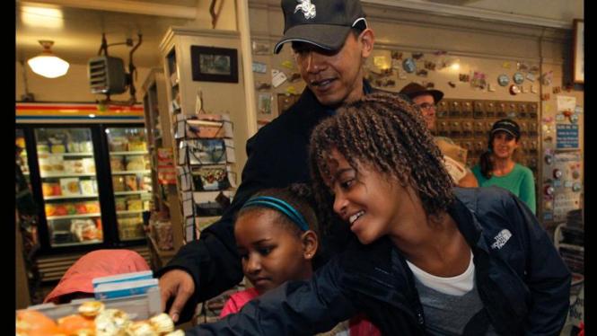 Liburan Keluarga Obama