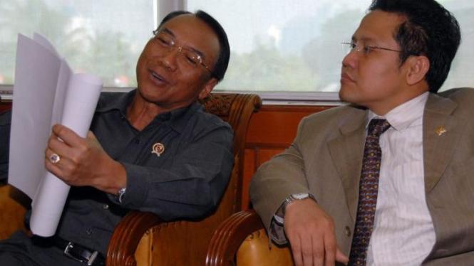 Jero Wacik dan Muhaimin Iskandar