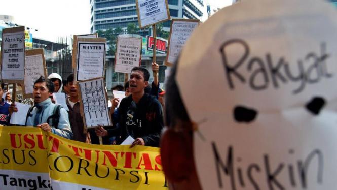 Demo Mendukung KPK