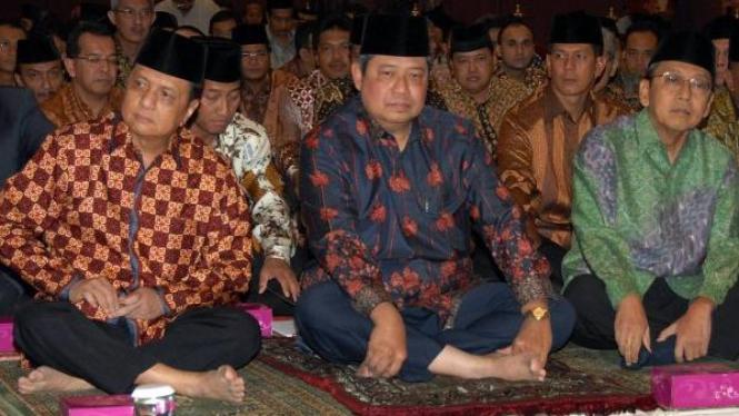 MS Hidayat, Susilo Bambang Yudhoyono (SBY) & Boediono