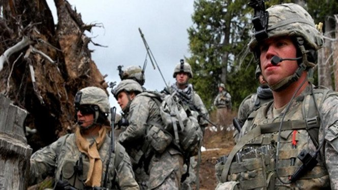 Pasukan AS bersiap melakukan operasi militer di Afganistan