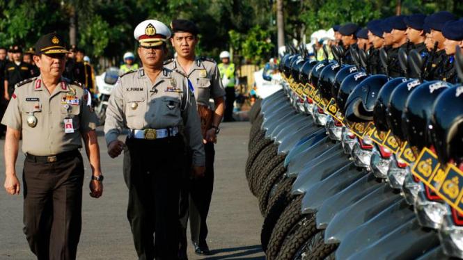 Gelar Pasukan Pengamanan Lebaran 2009