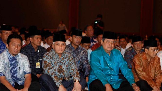 Tifatul Sembiring, Hatta Rajasa, SBY, dan Boediono