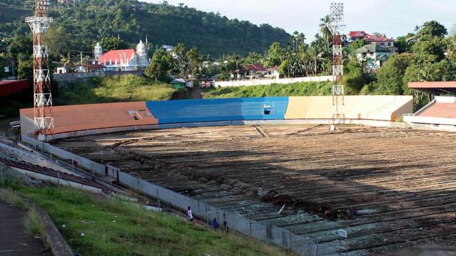 Renovasi Stadion Mandala Jayapura
