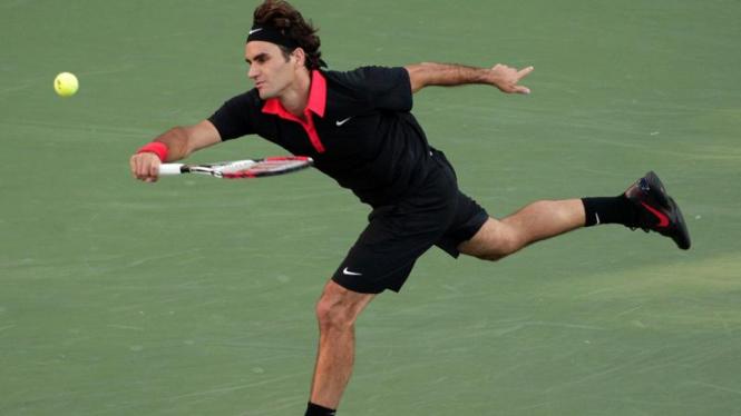 US Open : Roger Federer