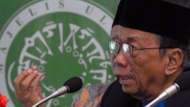 Ketua Majelis Ulama Indonesia (MUI) H.A. Amidhan