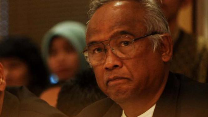 Mantan Ketua KPK, Taufiequrrachman Ruki.