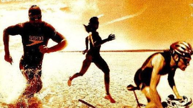 Ilustrasi Triathlon