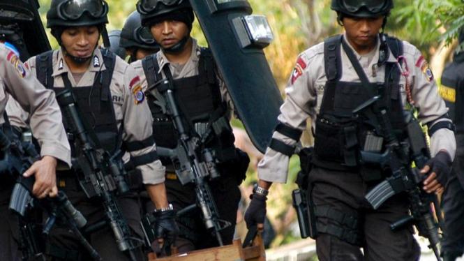 Penyerbuan Polisi ke Tempat Teroris di Mojosongo, Solo