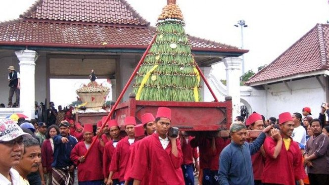 Grebeg Syawal Keraton Ngayogyakarta Hadiningrat