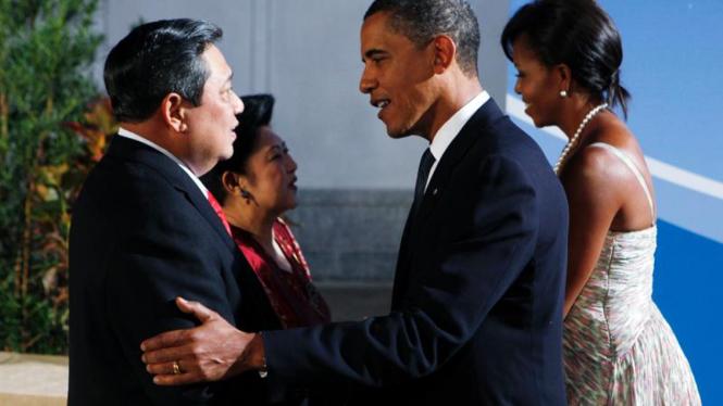 KTT G20 : Obama dan SBY
