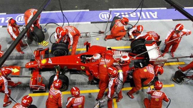 Singapore F1 Grand Prix : Ferrari