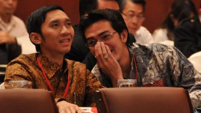Edhie Baskoro Yudhoyono ikuti kuliah umum anggota DPR terpilih