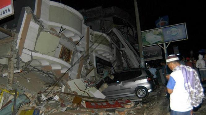 Gempa di Kota Padang