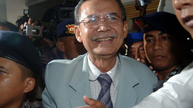 Mantan Wakil Ketua Komisi Pemberantasan Korupsi, Bibit Samad Riyanto.