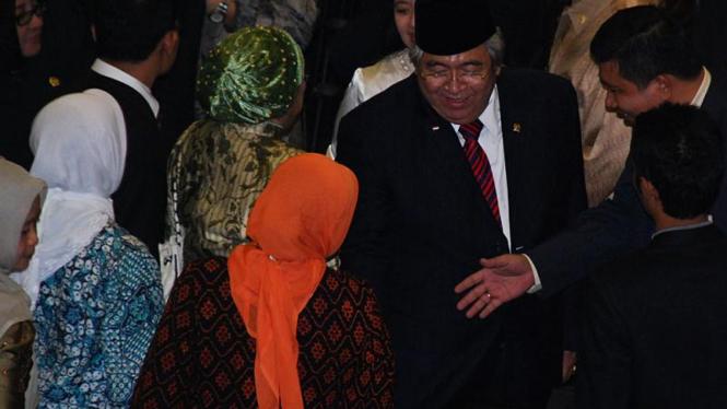 Taufiq Kiemas Disumpah Menjadi Ketua MPR