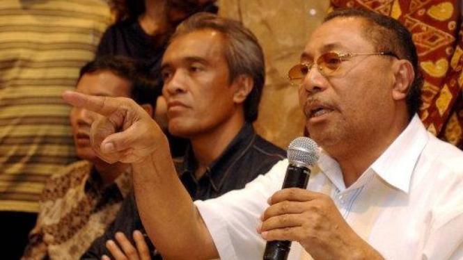 Anggota DPD Jhon Pieris (Maluku) dan La Ode Ida (Sulawesi Tenggara)