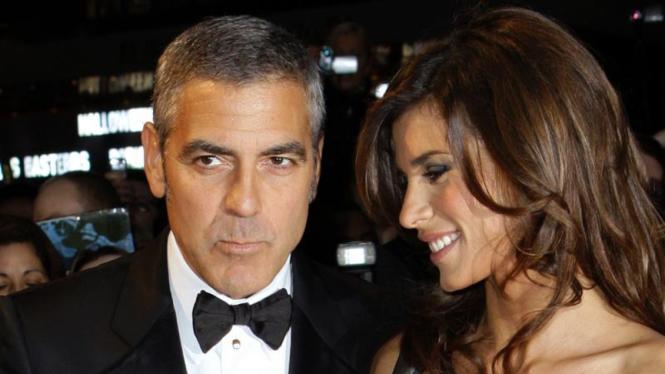 George Clooney dan Elisabetta Canalis