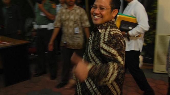 Sejumlah Calon Menteri Datangi Cikeas : Muhaimin Iskandar