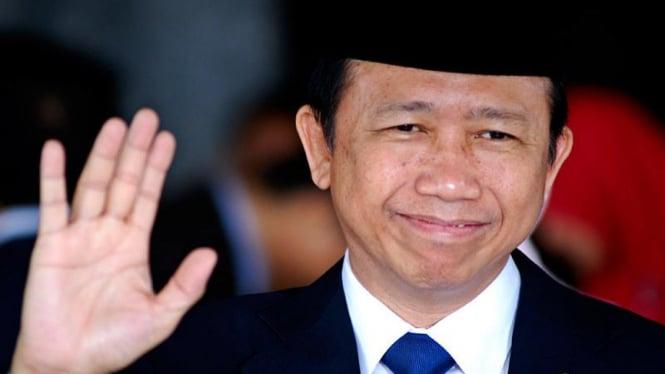 Pelantikan Presiden :  Marzuki Alie