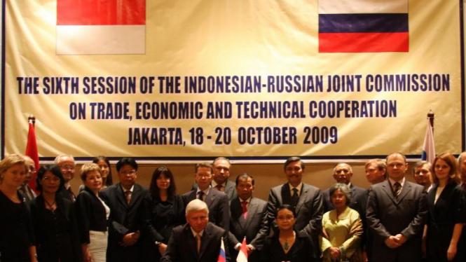 Pertemuan Komisi Bersama Indonesia - Rusia