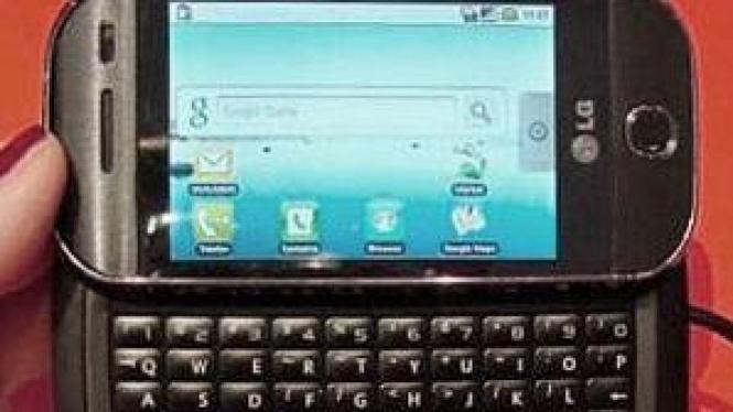 LG Etna, ponsel berbasis Android