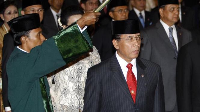 Pelantikan Menteri : Djoko Suyanto