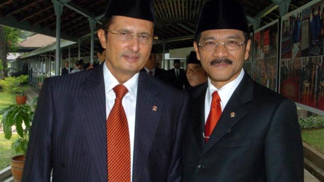 Pelantikan Menteri : Fadel Muhammad & Gamawan Fauzi