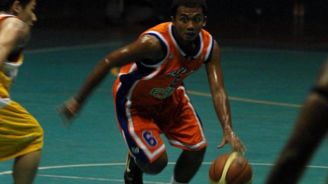 Pertandingan Basket Untuk Gempa Sumbar