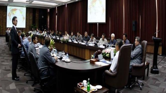 Rapat Paripurna Kabinet Indonesia Bersatu II perdana