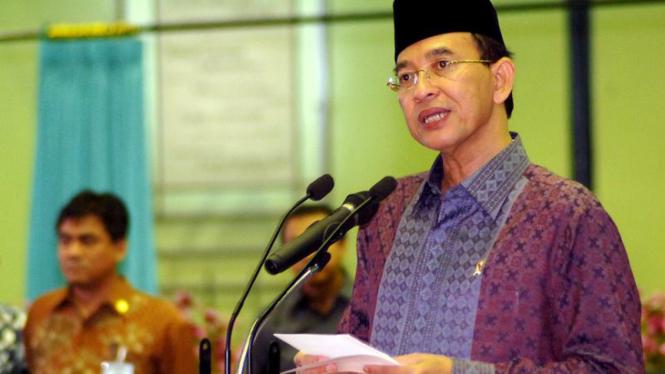 Menteri Agama, Suryadharma Ali Melepas Jemaah Haji