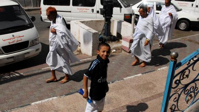 Jemaah Haji Mulai Datang di Mekah