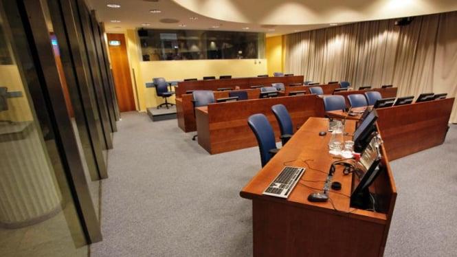 Ruang Sidang Mahkamah Internasional Den Haag