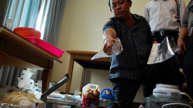 Polisi Sita Sabu 700 Gram di Apartemen Pasadenia