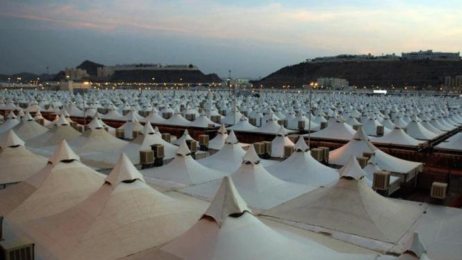 Perkemahan Jemaah Haji di Mina