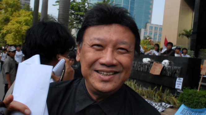Ketua Fraksi PDI Perjuangan Tjahjo Kumolo