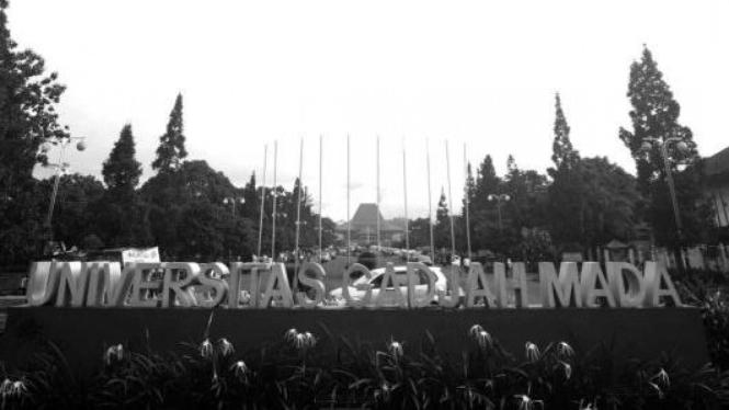 Kampus Universitas Gadjah Mada di Yogyakarta.