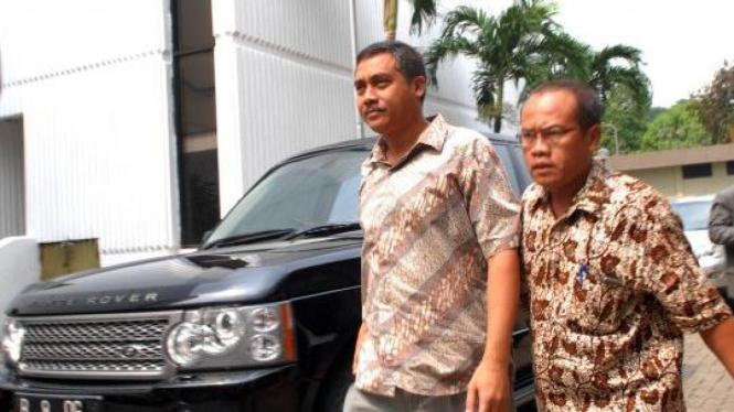 Ary Muladi, saksi kunci kasus KPK, dan pengacara Sugeng Teguh Santoso