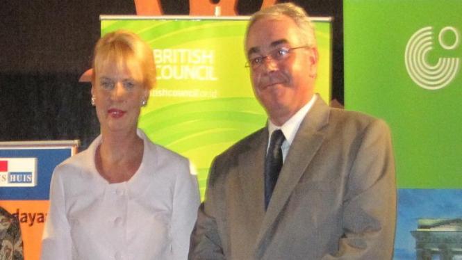 Dubes Swedia, Ewa Polano, dan Dubes Komisi Eropa, Julian Wilson