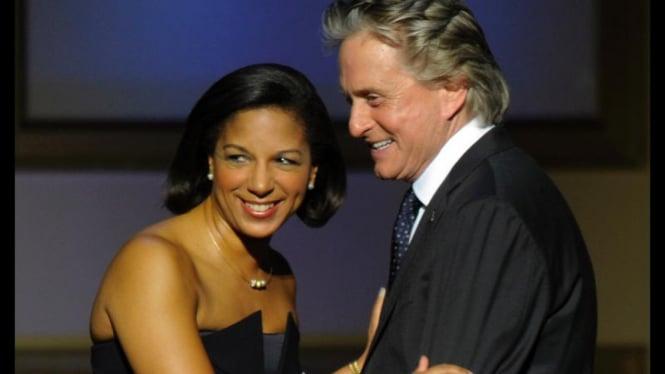 Glamour Women of The Year: Michael Douglas & Susan Rice