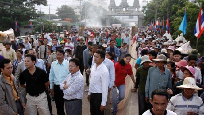 Konflik Thailand - Kamboja: Perbatasan