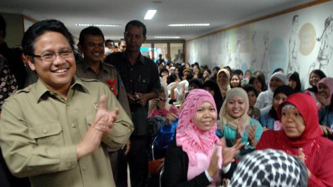 Pemulangan TKI Bermasalah : Muhaimin Iskandar