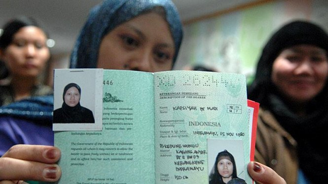 Pemulangan TKI Bermasalah : Paspor