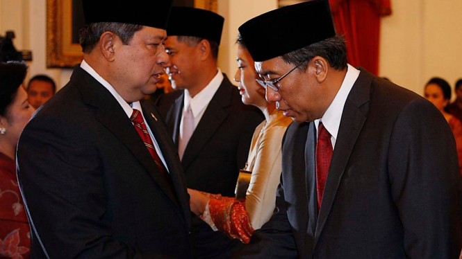 Presiden SBY dan Wakil Menteri Pertanian Bayu Khrisnamurthi