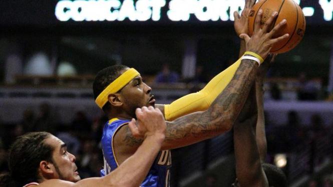 Nuggets Bulls : Carmelo Anthony & Joakim Noah