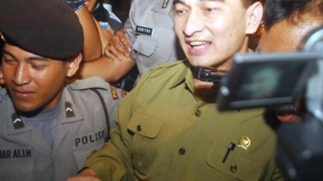 Dimyati Natakusuma ditahan karena kasus korupsi