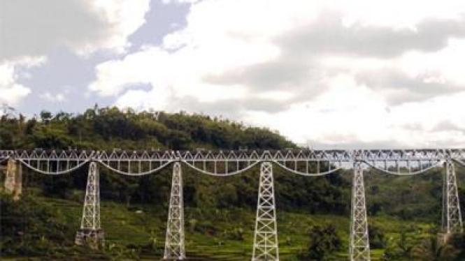 Jembatan rel kereta api