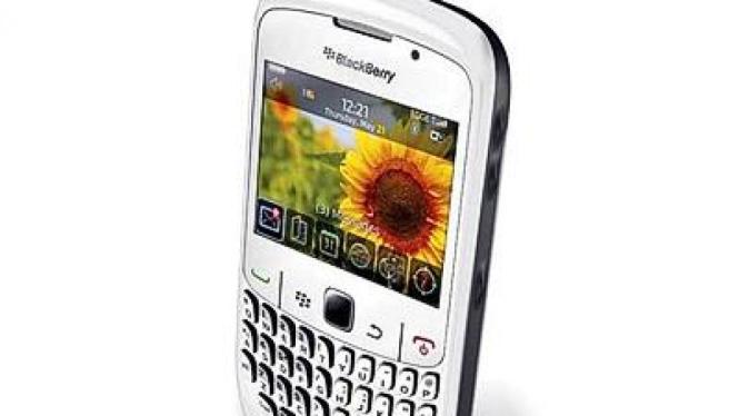 BlackBerry Gemini putih seharga Rp 3,4 juta