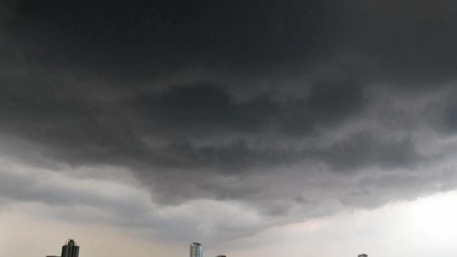 Cuaca Buruk di Jakarta